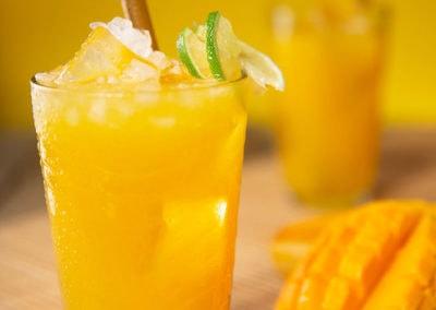 Segara Lombok Restaurant Mango Lemon Juice Drink