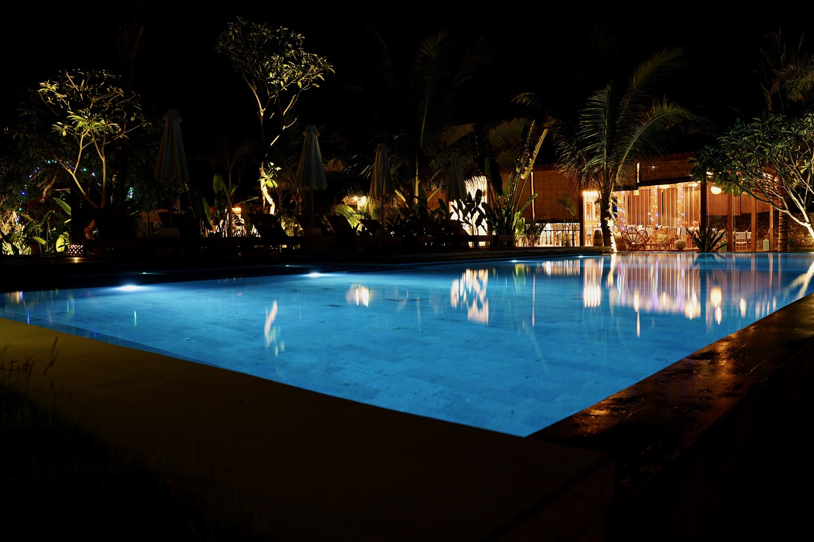 Gallery Segara Lombok - Pool by Night